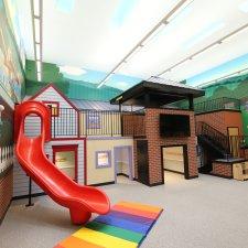 Interior play area